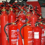 Diferentes tipos de extintores