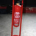 Soportes para extintores